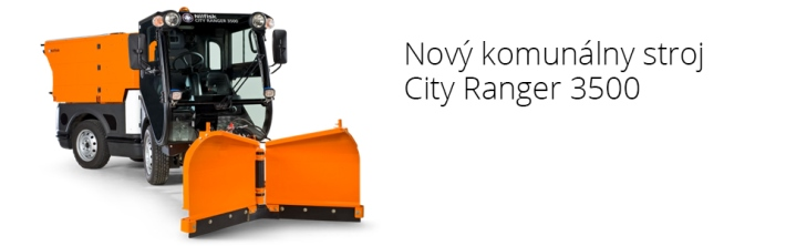 City Ranger 3500 so snehovou kefou