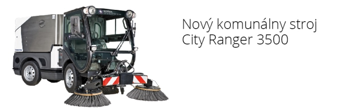 City Ranger 3500 so zametaním